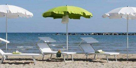 Ombrelloni Per La Spiaggia.Aqua