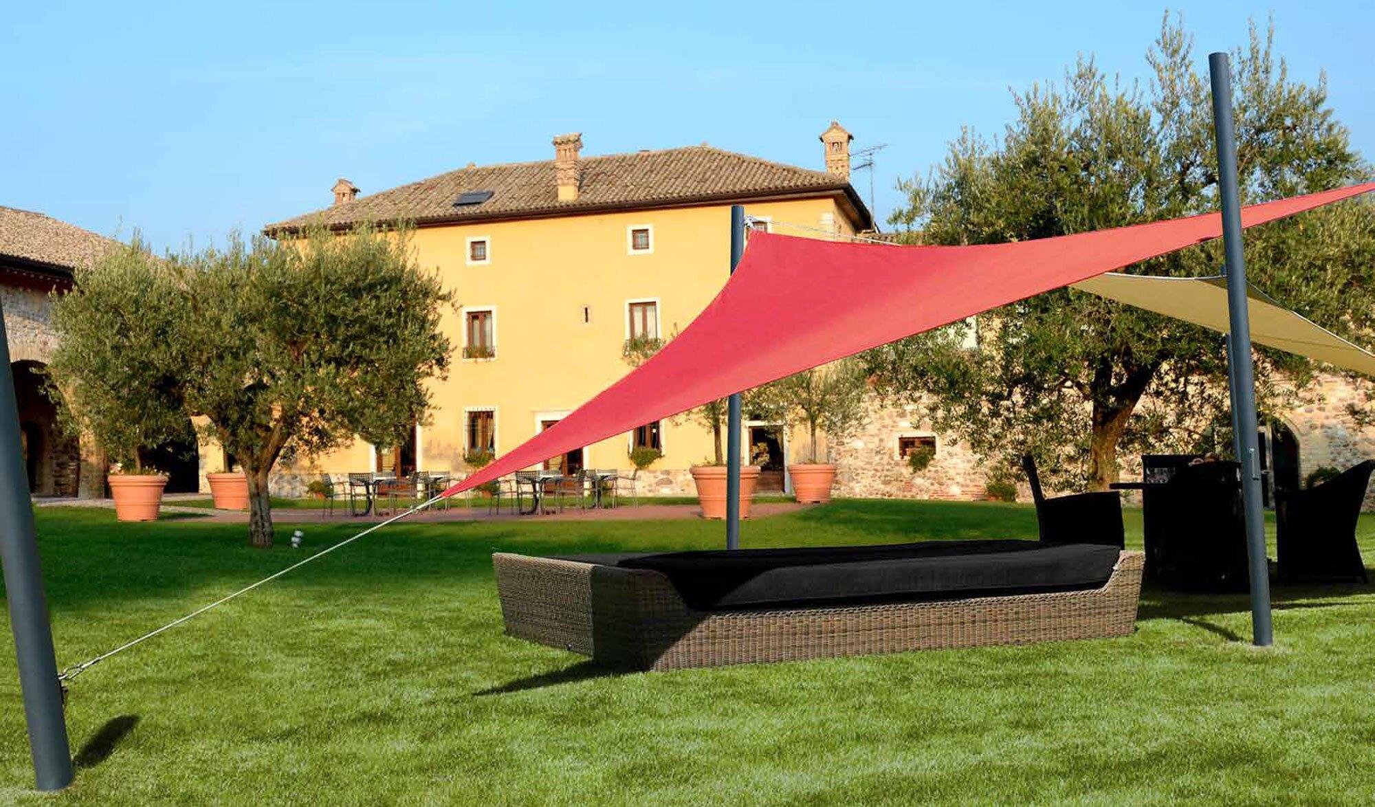 Vela Triangolare Da Giardino vela per giardino